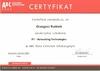 Certyfikat IP1 Networking Technologies
